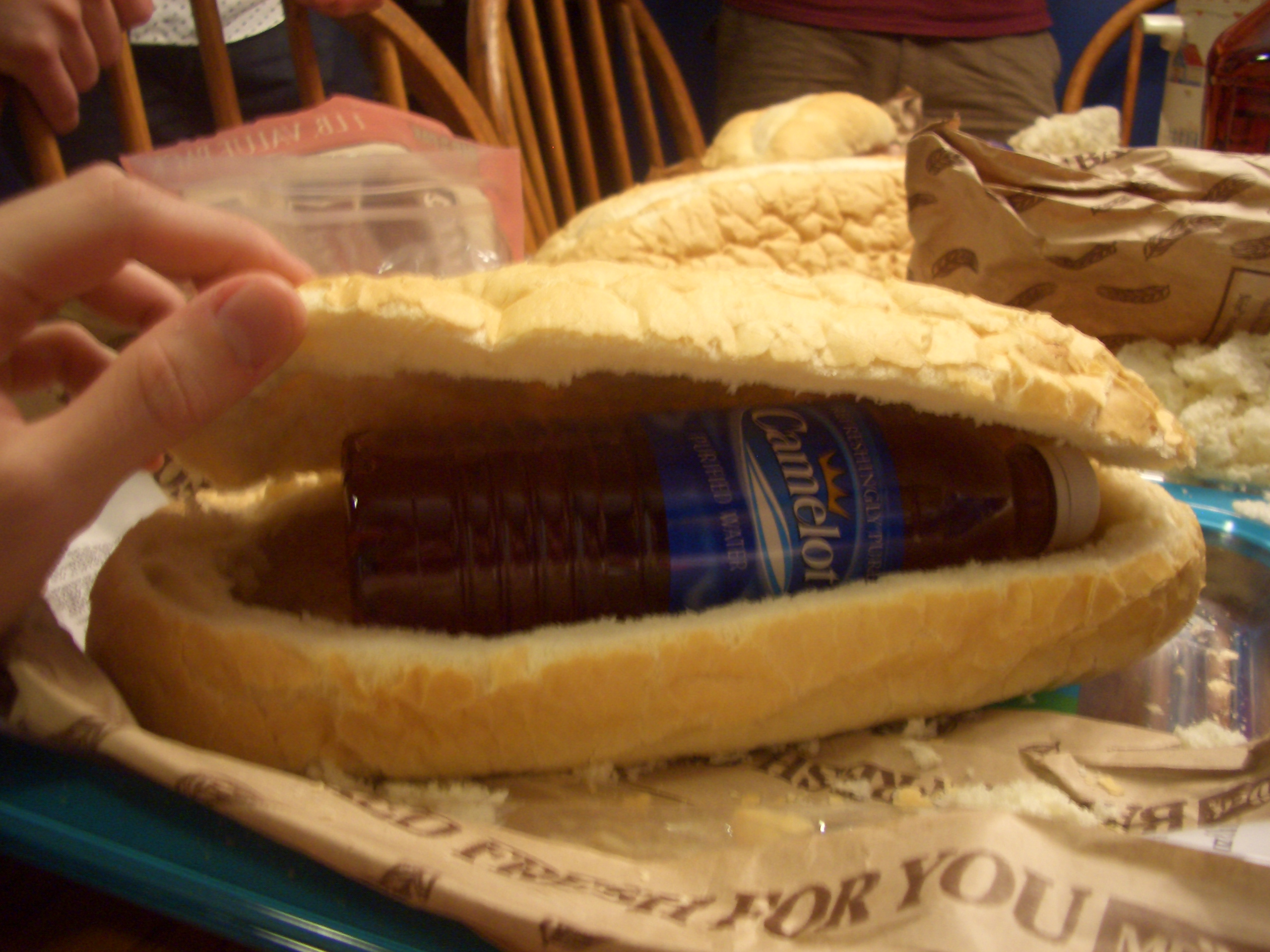 Bottle in Bread